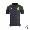 Youth adidas Mexico 2015 Home Jersey
