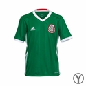 Youth adidas Mexico 2016 Home Jersey