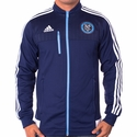 adidas New York City FC Anthem Jacket - Navy Blue