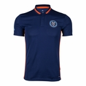 adidas New York City FC SS Polo - Navy Blue