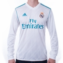 adidas Real Madrid 2017/2018 LS Home Jersey