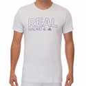 adidas Real Madrid Core Tee - Crystal White