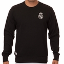 adidas Real Madrid Crew Sweatshirt - Black