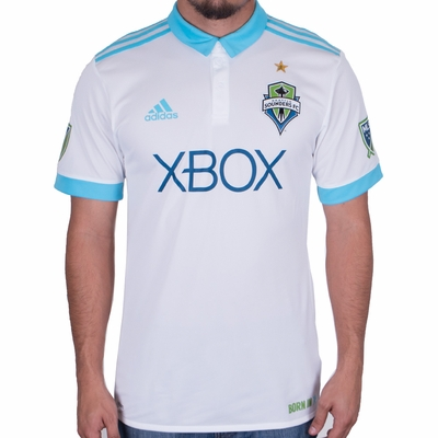 adidas Seattle Sounders 2017/2018 Authentic Away Jersey - Click to enlarge