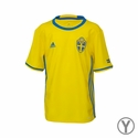 Youth adidas Sweden 2016 Home Jersey