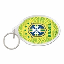 Brazil Acrylic Key Ring