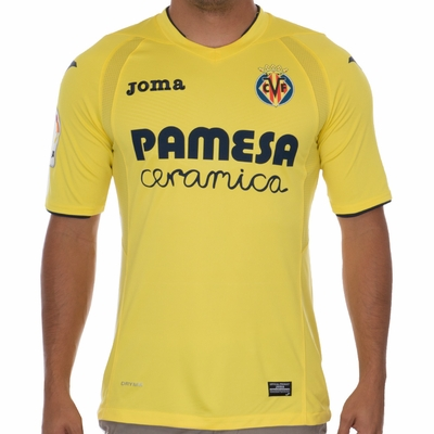 Joma Villareal 2016/2017 Home Jersey - Click to enlarge