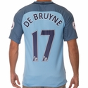 Kevin De Bruyne Manchester City 2016/17 Home Jersey