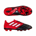 Kid's adidas ACE 17.4 FxG Soccer Cleats - Red