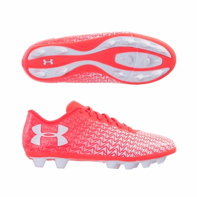 Kids Under Armour CF Force 3.0 FG Soccer Cleats - Click to enlarge