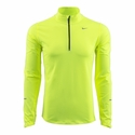 Men's Nike Element Half Zip Top - Volt