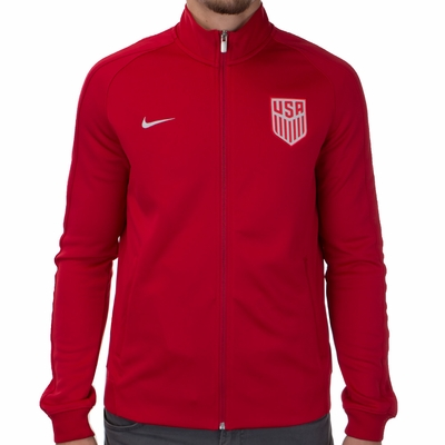 Men's Nike USA Auth N98 Track Jacket - Gym Red - Click to enlarge