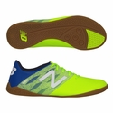 New Balance Furon Dispatch Indoor Soccer Shoes - Green/Blue