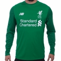 New Balance Liverpool FC 2017/2018 Goalkeeper Home Jersey