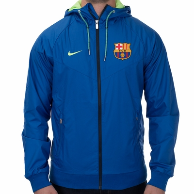 Nike FC Barcelona Authentic Windrunner Jacket - Game Royal - Click to enlarge