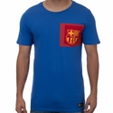 Nike FC Barcelona Crest Tee - Game Royal