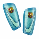 Nike FC Barcelona Mercurial Lite Shinguards - Green Glow