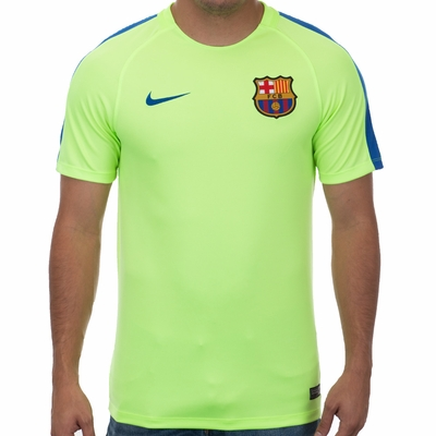 Nike FC Barcelona Squad SS Top - Ghost Green - Click to enlarge