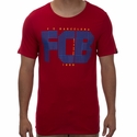 Nike FC Barcelona Squad Tee - Gym Red
