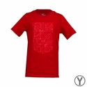 Nike Kid's Neymar Logo T-Shirt - University Red