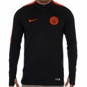 Nike Manchester City Squad Drill Top - Black