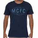Nike Manchester City Squad Tee - Midnight Navy