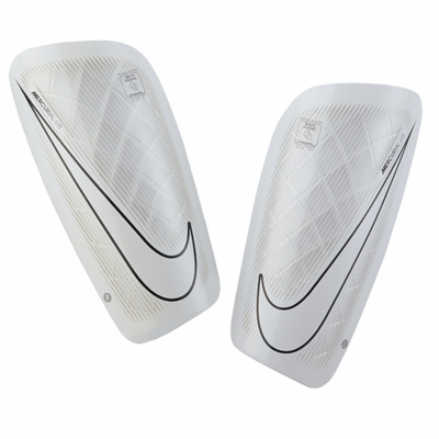 Nike Mercurial Lite Shinguards - White - Click to enlarge