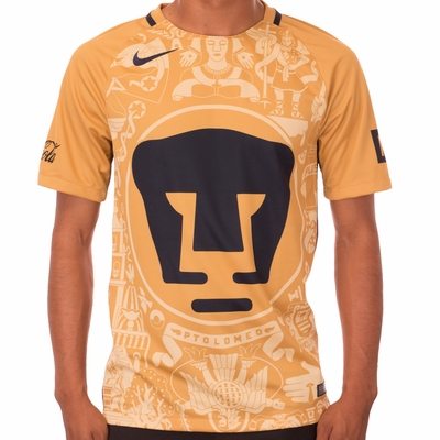 Nike Pumas UNAM 2016/2017 Stadium Home Jersey - Click to enlarge