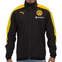 Puma Borussia Dortmund Vented Training Jacket - Black