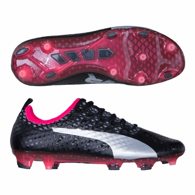 Puma evoPOWER Vigor 1 FG Soccer Cleats - Black - Click to enlarge