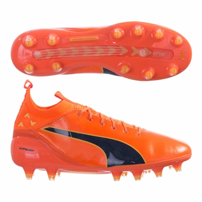 Puma evoTOUCH Pro FG Soccer Cleats - Orange - Click to enlarge