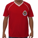 Rhinox Chivas Poly Tee - Red/White
