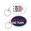 U.S. Soccer 3-Star Crest Key Ring