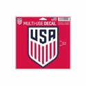 "U.S. Soccer 5""x6"" Decal"
