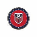 U.S. Soccer Chrome Clock