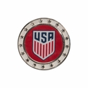 U.S. Soccer Circle Crest Collector Pin