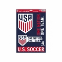 U.S. Soccer Decal Sheet
