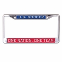 U.S. Soccer Inlaid License Plate Frame