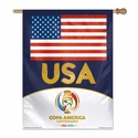 USA 2016 Copa America 27x37 Vertical Flag