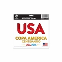 USA 2016 Copa America 4x6 Decal