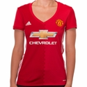 Women's adidas Manchester United 2016/2017 Home Jersey