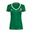 Women's adidas Mexico 2016 Home Jersey