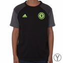 Youth adidas Chelsea FC Training Tee - Black