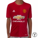 Youth adidas Manchester United 2016/2017 Home Jersey