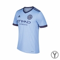 Youth adidas New York City FC 2017/2018 Home Jersey