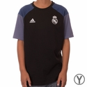 Youth adidas Real Madrid Training Tee - Granite