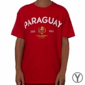 Youth Fifth Sun Paraguay 2016 Copa America Tee - Red