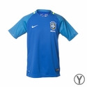 Youth Nike Brazil 2016/2017 Stadium Away Jersey