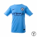 Youth Nike Manchester City 2017/2018 Stadium Home Jersey