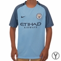Youth Nike Manchester City FC 2016/2017 Stadium Home Jersey